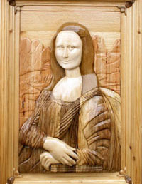 Мона Лиза (интарсия)