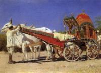 Повозка богатых людей в Дели. 1875