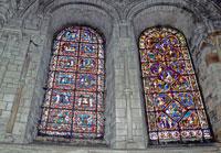 Витражи собора Сен Этьен