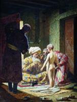 Продажа ребенка-невольника. 1872