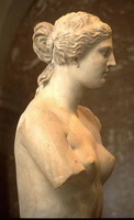 Венера Милосская в профиль