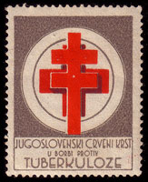 Виньетка югославского Красного Креста