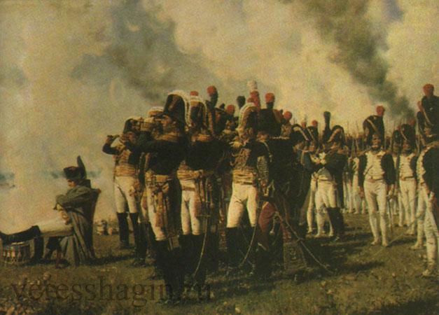 Наполеон I на Бородинских высотах (Верещагин В.В.)