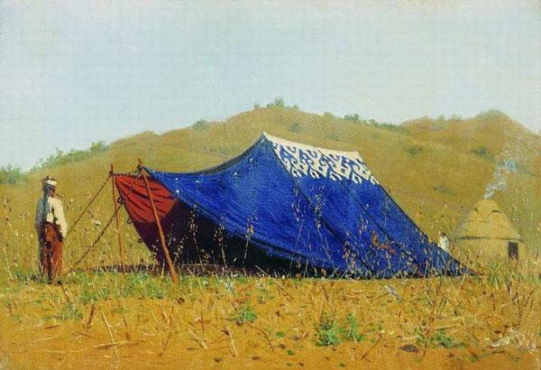Китайская палатка (Верещагин В.В.)