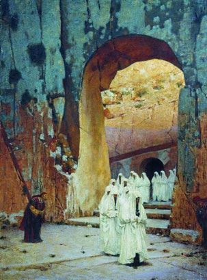 В Иерусалиме. Царские гробницы