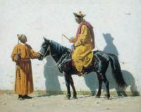 Калмыцкий лама. 1869