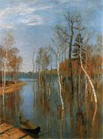 Весна – большая вода (Исаак Левитан)