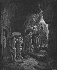Картина И пришел Авраам рыдать по Сарре