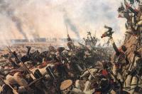 Конец Бородинского сражения. 1899—1900
