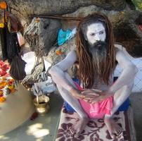 Йог-аскет в Харидваре, Индия