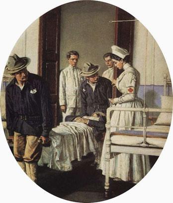 В госпитале (Верещагин В.В.)