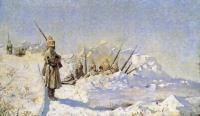 Снежные траншеи (Русские позиции на Шипкинском перевале). 1878-1881