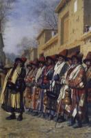 Хор дервишей, просящих милостыню. 1870