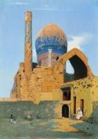 Самарканд. Мавзолей Гур-Эмир. 1890