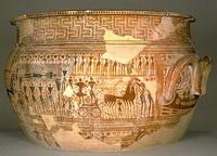 Сосуд, составленный из фрагментов (ок. 760-750 г. до н.э.)