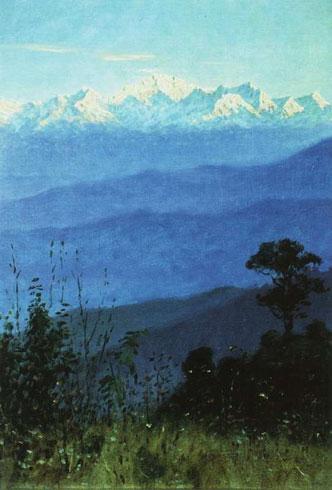 Гималаи вечером (Верещегин В.В.)