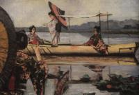 Прогулка в лодке. 1903-1904