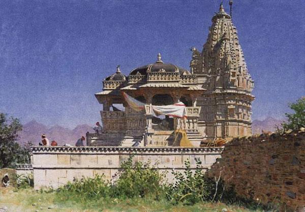 Браминский храм в Адельнуре