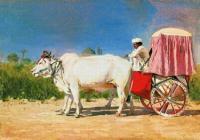 Повозка в Дели. 1875