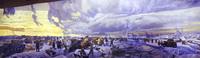 Фрагмент диорамы Сталинградская битва. Соединение фронтов (М.И. и А.М. Самсоновы)