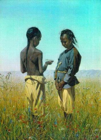 Дети племени Солонов (Верещагин В.В.)