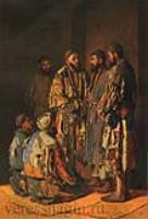 Политики в опиумной лавочке. Ташкент.1870
