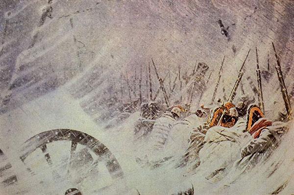Ночной привал Великой армии (Верещагин В.В.)