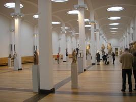 Главное фойе Берлинской картинной галереи