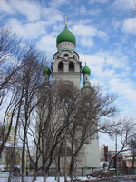 Колокольня на Старообрядческой улице