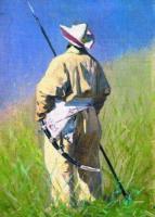 Киргиз. Портрет мужчины. 1870