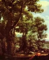 Пейзаж с пастухом коз (К. Лоррен)