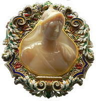 Камея с изображением Птолемея II