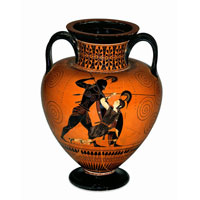 Греческая амфора