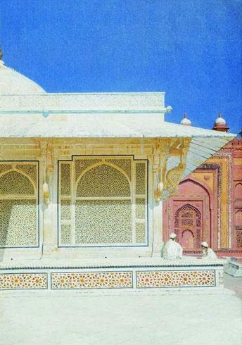 Гробница Шейха Селима Чишти в Фатехпур-Сикри