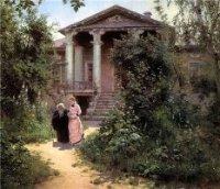 Картина Бабушкин Сад