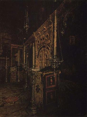 Иконостас церкви Иоанна Богослова на Ишне близ Ростова Ярославского