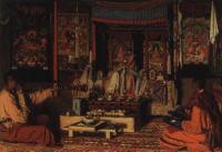 Калмыцкая молельня. 1869