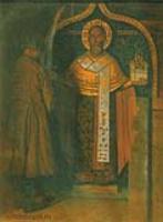 Икона Николы с верховья реки Пинеги.1894