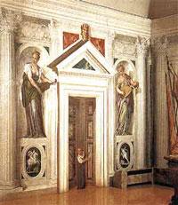 Фреска на вилле Барбаро (П. Веронезе)