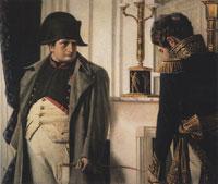 Наполеон и маршал Лористон «Мир во что бы то ни стало!»
