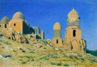Мавзолей Шах-и-Зинда в Самарканде. 1889