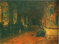 Паперть церкви Иоанна Предтечи в Толчкове. Ярославль. 1888