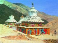 Посмертные памятники в Ладакхе. 1875