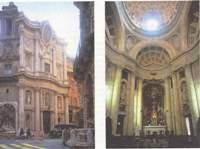 Борромини. Церковь Сан Карло алле кватро фонтане. Рим