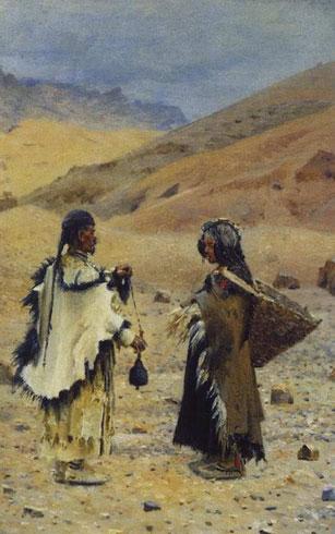 Жители Западного Тибета