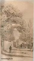 Улица в деревне Ход-жагенте. 1868