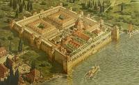 Макет Диоклетианова дворца в Спалато