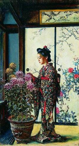 Японка (Верещагин В.В.)