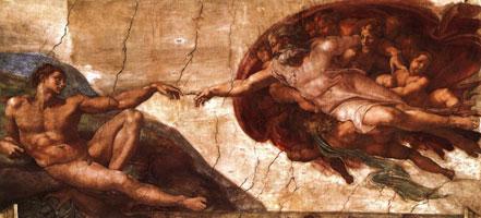 Сотворение Адама (Микеланджело)