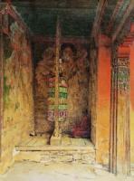 Молитвенная машина буддистов. 1875